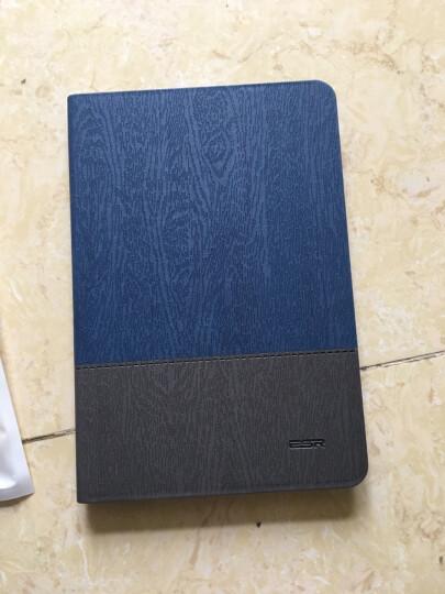 亿色(ESR)苹果iPad mini2/3/1保护套/壳 轻薄防摔支架皮套 至简原生系列 蓝灰笔记 晒单图