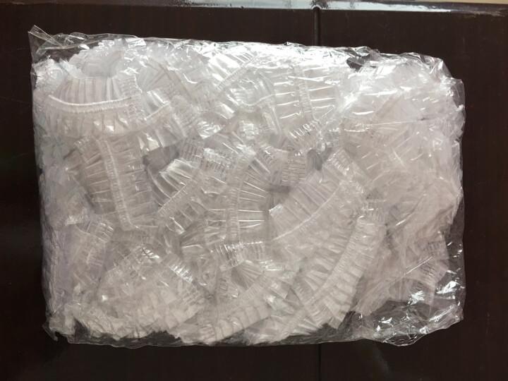200只一次性塑料耳套洗发染发洗澡护耳防耳朵进水加厚耳罩 晒单图
