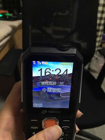 天语(K-TOUCH)T3 黑色 超长待机 老人手机 直板三防 移动联通 老年手机 晒单图