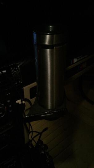 睿驰车载电热水杯12/24V通用不锈钢无线遥控智能杯汽车加热杯烧水壶真空保温杯 金色无线遥控 晒单图