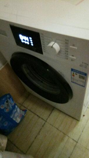 TCL 9公斤 全自动变频滚筒洗衣机 自编程 中途添衣 静音(芭蕾白) XQG90-P300B 晒单图