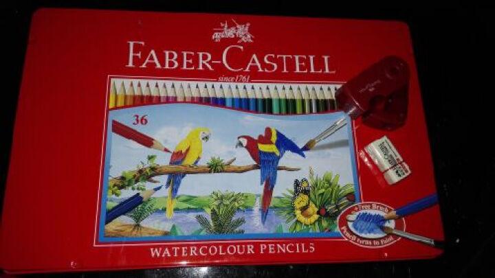 辉柏嘉(Faber-castell) 笔刨 卷笔刀 削笔器铅笔刀 1827扇形单孔黑/红/蓝 颜色随机发(单支) 晒单图