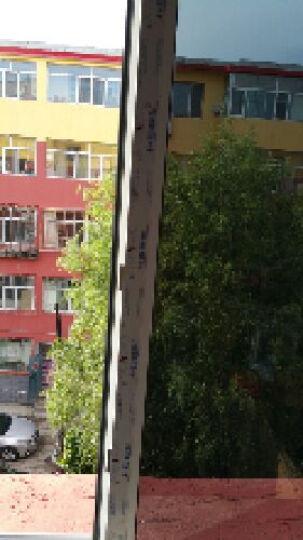 正奥玻璃贴膜 防透 隔热膜家用阳光房太阳膜 保温膜 厨房阳台窗户防晒膜 0.3米宽   /米 晒单图