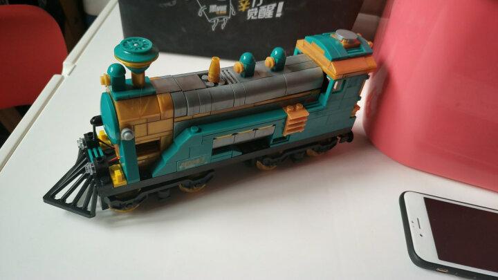 高博乐和谐号天际列车电动道拼装火车积木兼容乐高儿童益智玩具男孩礼品 天际高速列车98223(1287颗粒)送拆件器 晒单图