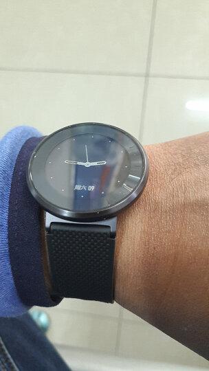 荣耀手表S1 深空灰 黑色长腕带(时尚智能穿戴手表手环 运动心率监测 50米游泳防水 跑步指导 睡眠监测) 晒单图