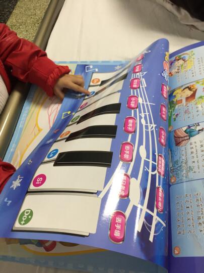 乐乐鱼 (leleyu) 有声挂本 儿童中英文点读画本 有声音乐挂图宝宝早教认知卡益智玩具 晒单图