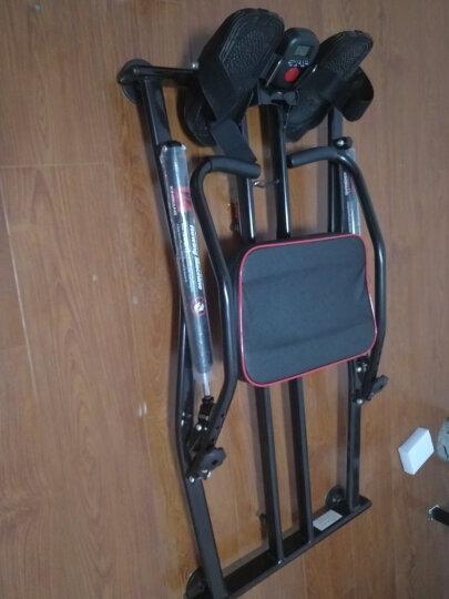 天美健液压划船器多功能划船机腹部健身器材家用训练器锻炼腹肌胸肌 黑色 晒单图