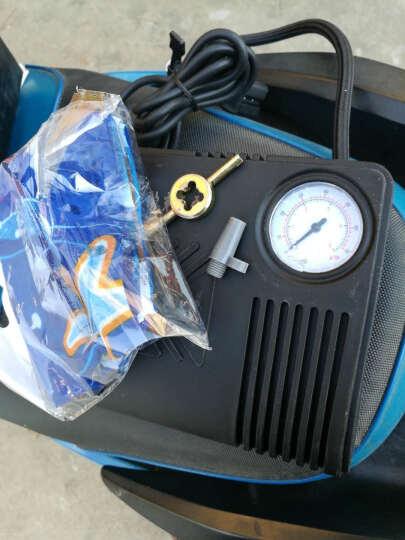 XLHBIKE 汽车充气泵12V 车载汽车用  电瓶车电动车充气泵48V60V 便携式打气筒车载配件 电动车型  36V-60V充气泵 晒单图