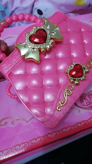欧锐芭比娃娃巴啦啦小魔仙冰雪仙子公主魔法棒音乐声光魔法变身套装女孩玩具 粉色手提包+王冠发卡+耳环+手环 晒单图