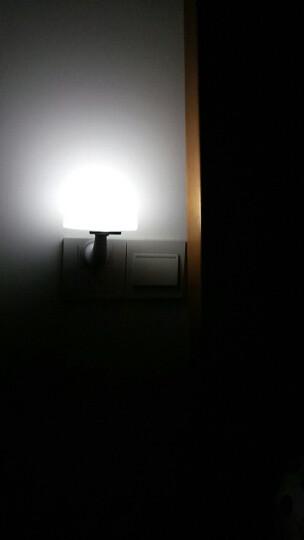 银之优品节能插电感应灯床头灯宝宝灯遥控/光控/声控LED小夜灯蘑菇灯北京发货 白色(多功能遥控款)非声光控 晒单图