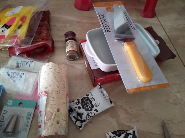 展艺 【巧厨烘焙】 塑料刮板 蛋糕奶油 软质刮刀 刮油板月饼面团切 ZY3703粉色(梯形)刮板 晒单图