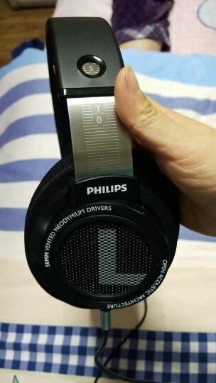 飞利浦SHP9500耳机头戴式HIFI手机吃鸡电脑游戏绝地求生魔声电竞音乐监听光荣使命耳机 SHP9500黑色加耳机包 晒单图