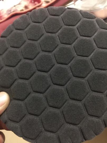 路贝斯 汽车打蜡抛光研磨海绵盘抛光盘平面海绵轮粗细还原盘 单个/150MM六角盘/黑色/细 晒单图