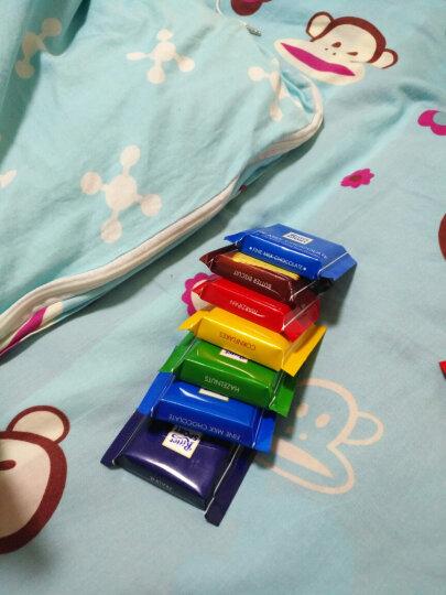 瑞特斯波德迷你七彩什锦巧克力150克(9块)德国原装进口排块运动果仁夹心巧克力圣诞节礼物 晒单图