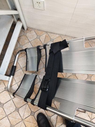 XIEEH铝合金铲式担架分离式结构可伸缩急救救援担便携式多功能抢救床 晒单图