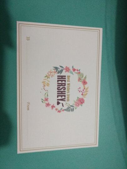 好时(Hershey's)情人节圣诞节教师节 心意拼制巧克力生日礼盒512g 晒单图