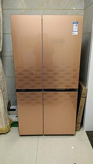 统帅(Leader) BCD-649WLDCP海尔双门对开门冰箱风冷变频两门冰箱干湿分储 浪漫金 晒单图