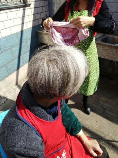 魔香 染发剂一洗黑洗发水五贝子清水植物纯染发膏黑色黑发一梳黑男女染膏白发变黑发不沾头皮遮白发 植物染发剂550ml+护发精油70ml 晒单图