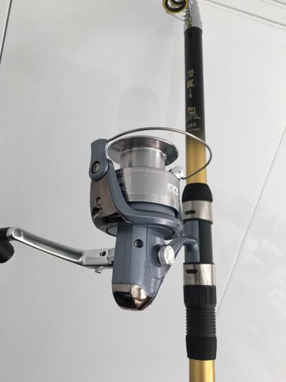 迪佳 摇轮 LD2000/2500/3000/3500/4000/5000纺车轮10轴渔轮 LD4000 晒单图