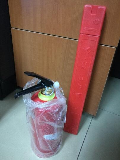 江荆 车载灭火器1公斤+三角架警示牌 手提式干粉灭火器MFZ/ABC1 消防器材 晒单图