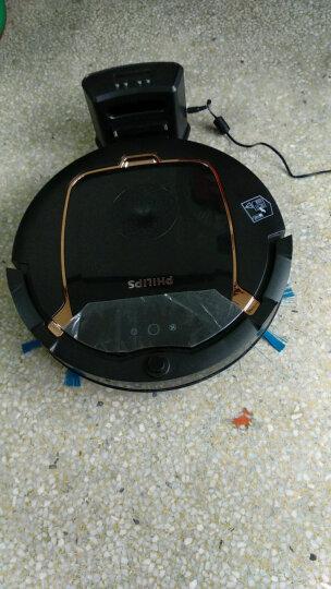 飞利浦(PHILIPS) 扫地机器人家用智能规划吸尘器 全自动清洁扫地机 地宝 深黑和金铜色FC8820/81 晒单图