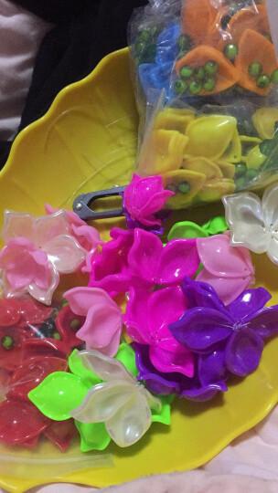 DIY手工串珠玫瑰花材料包情人节礼物荷花莲花女朋友摆件家居饰品 玫瑰红色 晒单图
