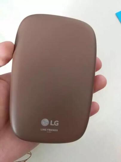 LG趣拍得 礼物相印机 手机便携相片打印机 手机照片拍立得 PD269SF LINE FRIENDS布朗熊 晒单图