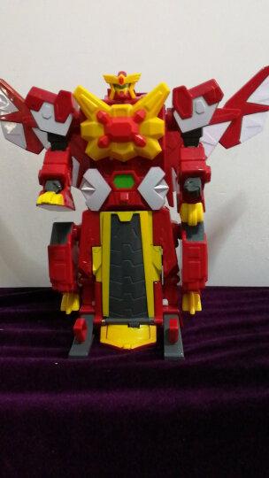 灵动创想(LDCX)爆兽猎人玩具儿童男孩爆丸自动变形蛋对战出阵套装 地狱三头蛇5404 晒单图