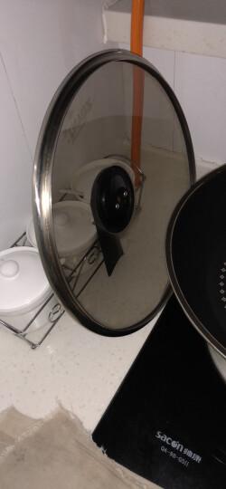 钻技(ZUANJ) 钻技ZUANJ炒锅不粘锅30cm燃磁通用锅具 晒单图