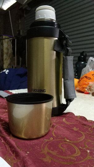 富光心悦系列 不锈钢保温壶户外车载保温水壶 304不锈钢保温瓶热水瓶容量保温杯暖壶 粉色 1L 晒单图