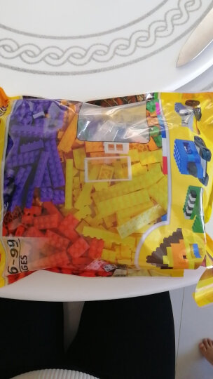 倍奇 儿童积木玩具创意DIY小颗粒拼装玩具拼插3-6周岁男女孩玩具颗粒 1000颗粒+赠包+底板+送700颗立体积木+大桶 晒单图