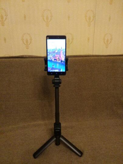 荣耀蓝牙三脚架自拍杆 无线版360度旋转手机通用直播专用(黑色) 晒单图