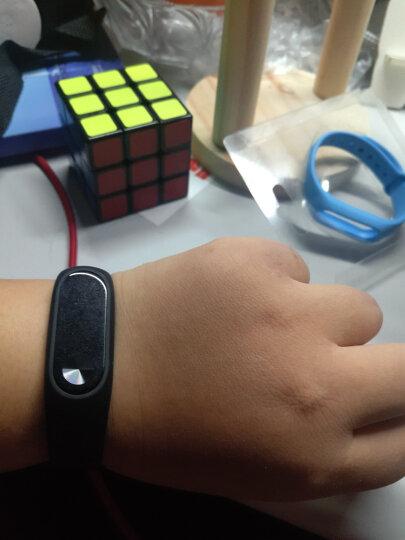 小米(MI)小米手环2 智能运动 心率监测 来电提醒 久坐提醒 LED显示屏 时间显示 防水计步器 无感腕带 晒单图