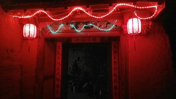 中式户外灯笼 仿古灯笼灯大红冬瓜灯笼酒店茶楼装饰节庆定做 50#小金福 晒单图