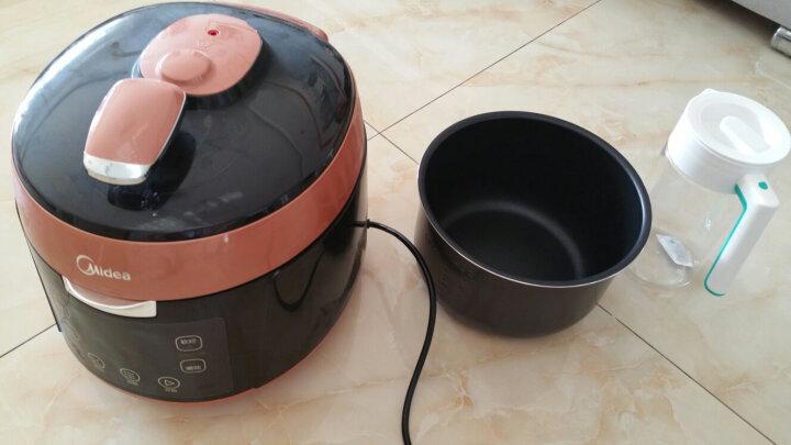美的(Midea)破壁机浓香加热破壁料理机 8叶刀头搅拌辅食机MJ-BL12K31(一机双杯) 晒单图