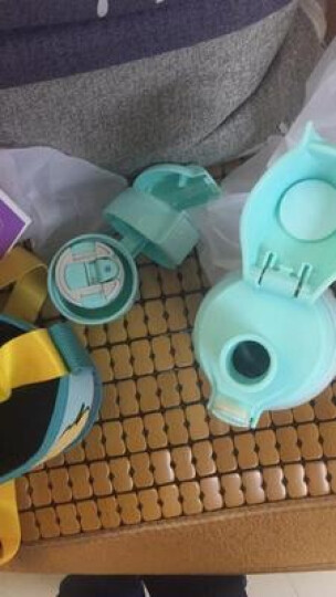 爱宝熊(IBOOLBEAR) 儿童保温杯宝宝保温杯  带吸管三用316不锈钢超长保温防漏 爱宝熊单杯刷 晒单图