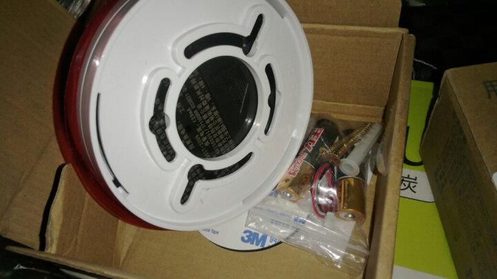腾驰(CT)JD-SD51 烟雾报警器独立烟感探测器3C无线烟雾感应器家用防火浓烟警报消防火灾烟感报警器 晒单图
