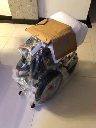 康翼1016S 电动轮椅车 轻便可折叠 老年人残疾人代步车锂电池铝合金车架双人 锂电池50AH款 晒单图