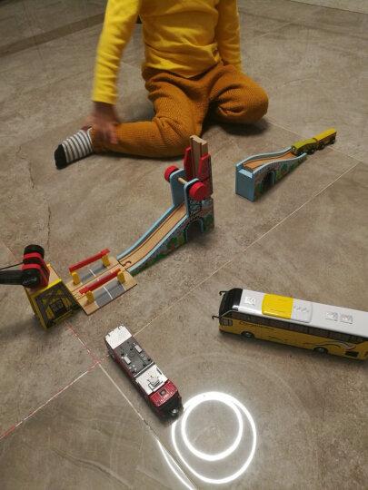加拿大ACOOL 木制轨道配件 场景搭建配件吊车拱桥车库 单节宜家兼容 儿童托马斯轨道 AC7428人形横道 晒单图
