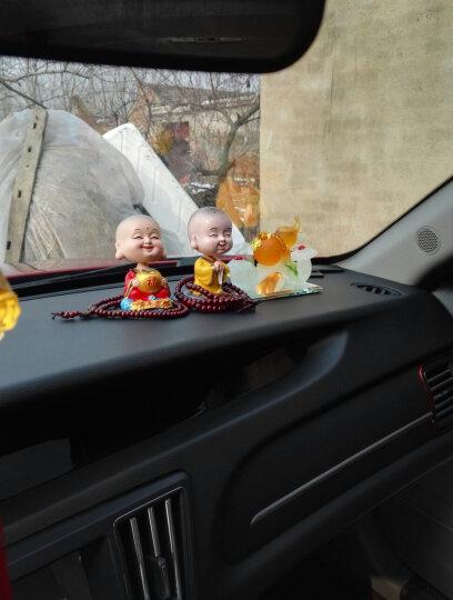 康车宝 汽车摆件 沸石香水花瓶 除异味车载摆件可爱创意花朵 平安果白瓶 晒单图