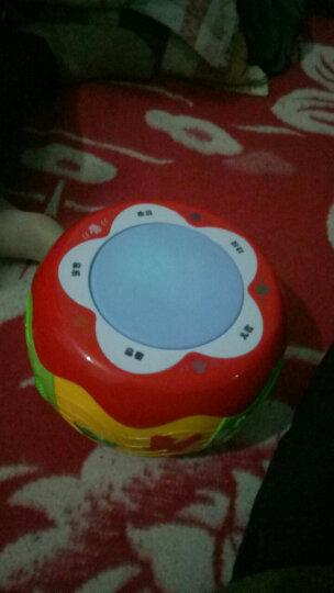 蕊芯儿童鼓玩具拍拍鼓婴儿音乐拍拍鼓可充电益智3个月--5岁启智婴幼儿儿童玩具 灯光敲鼓乐器 触摸智能投影拍拍鼓( 可充电) 晒单图