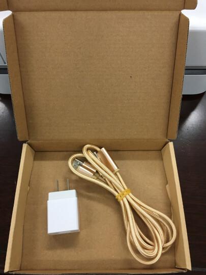 靓米媲美原装充电器插头手机充电头适用于苹果安卓oppo华为三星小米vivo魅族红米360 2.0A充电器(单个装) 晒单图