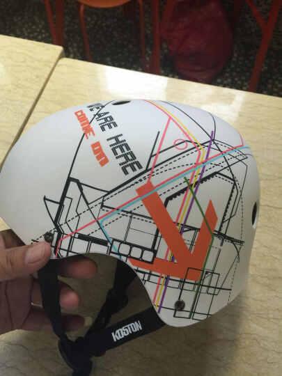 KOSTON  长板滑板头盔头盔  运动防护  极限运动头盔 轮滑骑行头盔 四叶草 M 56-59厘米 晒单图
