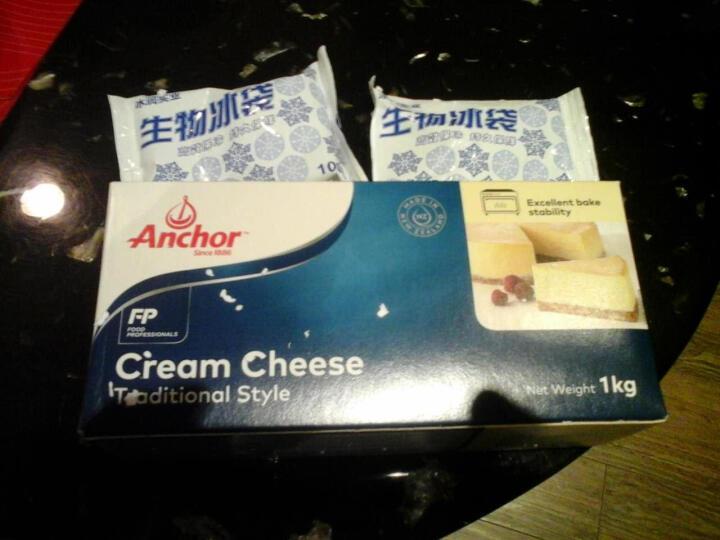 安佳奶油奶酪1kg奶油芝士干酪奶酪进口乳酪烘焙蛋糕烘焙原料 晒单图