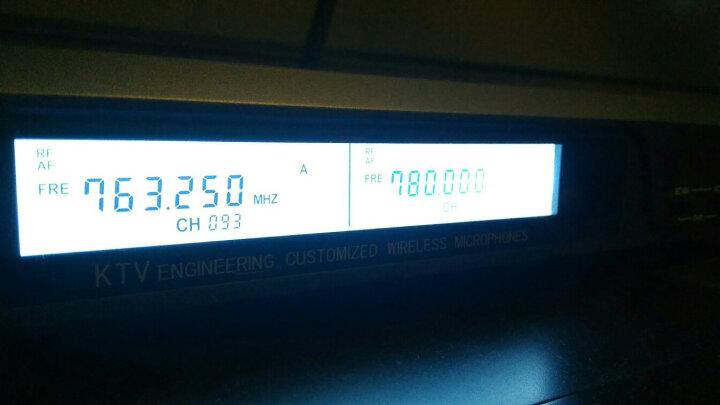 得胜(TAKSTAR)X6专业U段无线麦克风一拖二家庭KTV工程会议主持专用话筒银色 晒单图