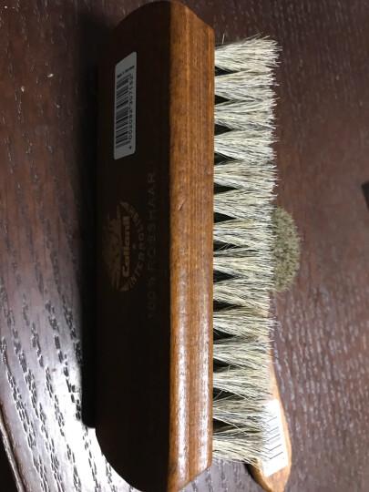 可乐耐(Collonil) 德国原装进口马毛清洁刷马鬃毛实木抛光刷 上光抛光刷 多功能鞋刷子 黑色 晒单图