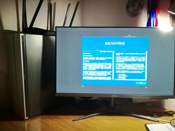 联想(Lenovo)天逸510 Pro 商用台式电脑主机(i5-7400 8G 1T  GT730 2G独显  三年上门 Win10 Office) 晒单图