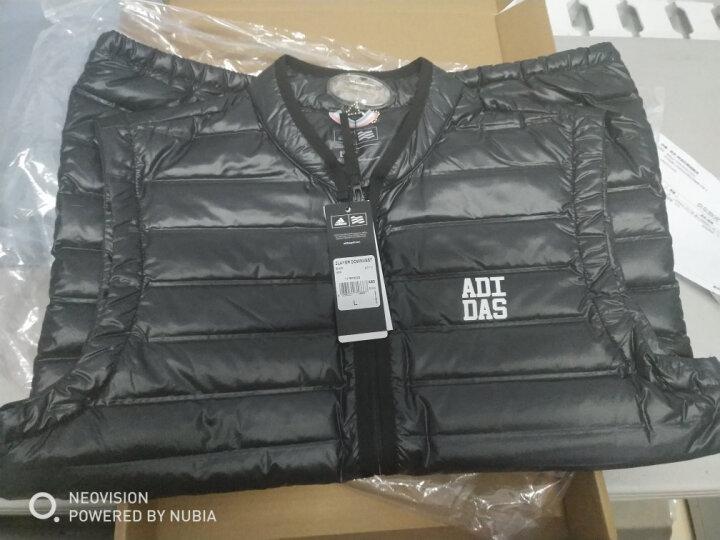 【断码特价】Adidas阿迪达斯 羽绒服马甲 男女士 轻薄款 冬季新款运动羽绒背心 黑色BC7112(2017新款超轻薄羽绒马甲) M 晒单图