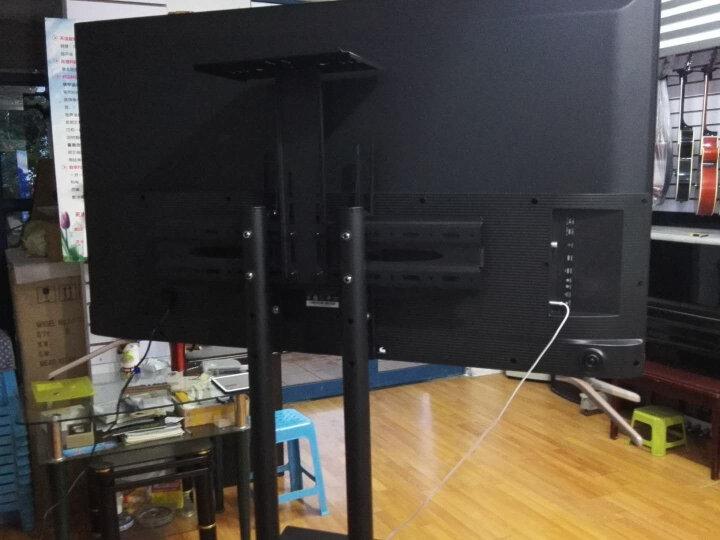 帝坤(dikun)通用电视双屏拼接移动推车/视频会议教学落地挂架/电子白板触摸屏一体机显示器推车支架T016-2SC 晒单图