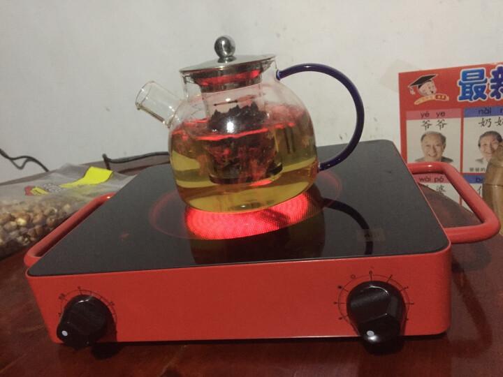 米技(MIJI)德国米技炉电陶炉家用煮茶炉定时双圈静音不挑锅安全无明火健康少烟 D2红 晒单图